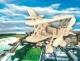 Аэроплан. Сборная деревянная модель